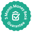 3 Months Money Back Guarantee